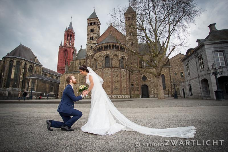 huwelijksaanzoek vrijthof