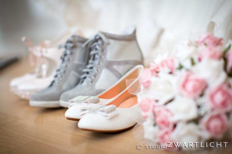 trouwschoenen bruid