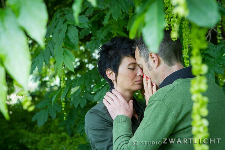 loveshoot in het groen